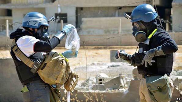 Сирийн устгахаар өргөдөл гаргасан химийн зэвсгийг устгаж дуусгалаа