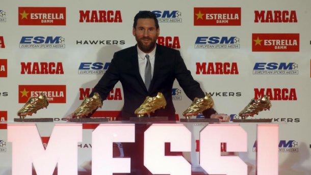 """Месси тав дахь удаагаа """"Алтан гутал""""-ын эзэн болов"""