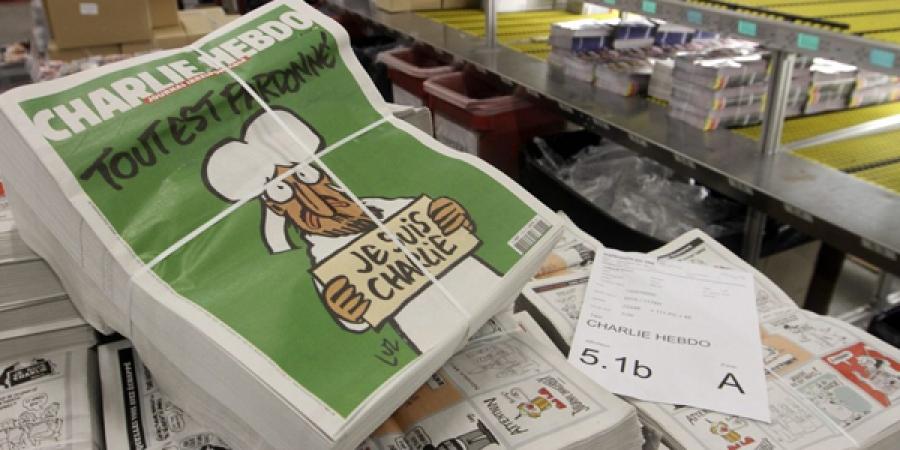 """""""Charlie Hebdo"""" 3 сая хувиар хэвлэгдэв"""
