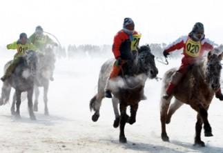 Хамгаалалтын хувцасгүй хүүхдийг хурдан морь унуулахгүй