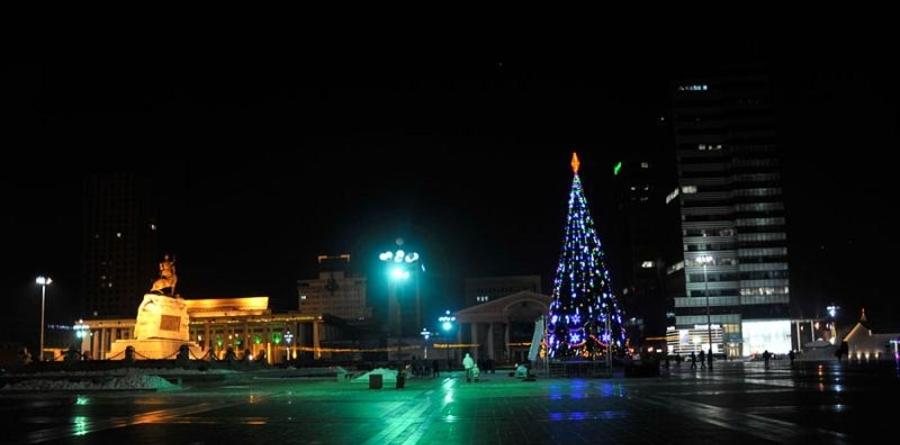 Төв талбайн Сүлд модны гэрлийг 12 сарын 15-ны өдөр асаана