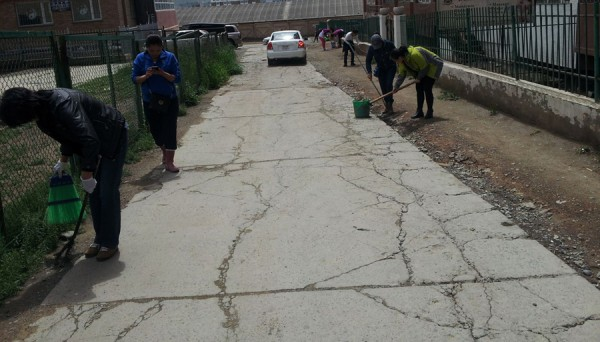 Хан-уул дүүрэг бүх нийтийн их цэвэрлэгээг зохион байгууллаа