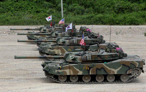 АНУ болон Өмнөд Солонгос хамтарсан цэргийн сургуулилтаа түр зогсоожээ