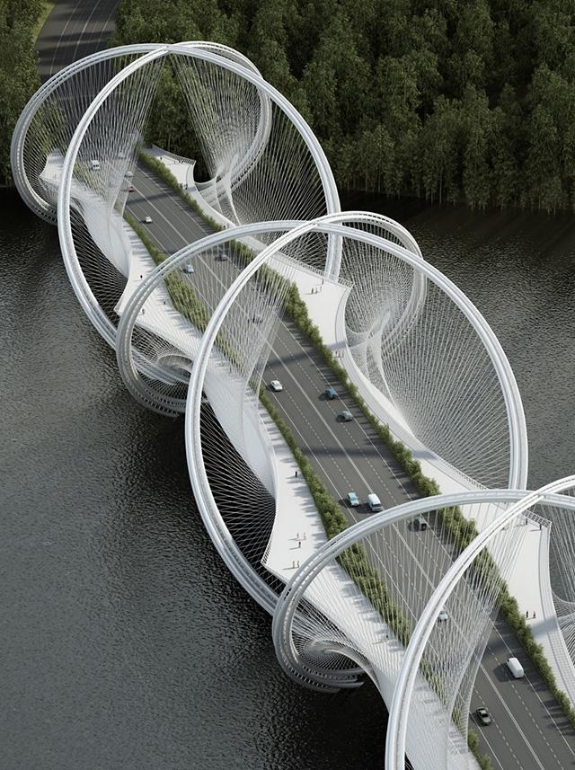 """Pendа архитектурын студи """"Олимпийн гүүр"""" төслөө танилцуулжээ"""