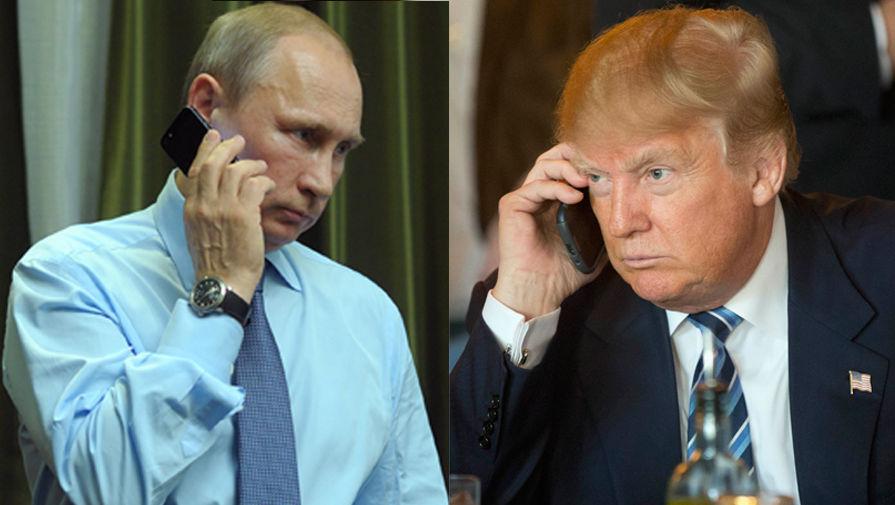 Д.Трамп: В.Путин амлалтаа санах хэрэгтэй