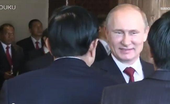 Путинд зориулж Хятадын Ерөнхийлөгч бүжиглэж, Индонезийн Ерөнхийлөгч дуулж байв (БИЧЛЭГ)