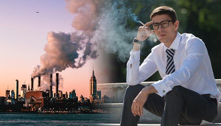 WEF: Агаарын бохирдол нь тамхидалтаас илүү үхлийн аюултай