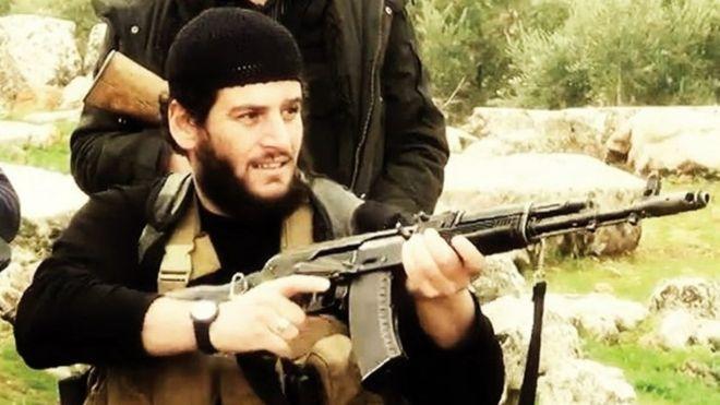 """Иракийн хэт даврагч """"Халифын вант улс"""" бүлэглэлийн Сири дэх толгойлогчийг устгасан болохыг Пентагоны хэвлэлийн албанаас"""