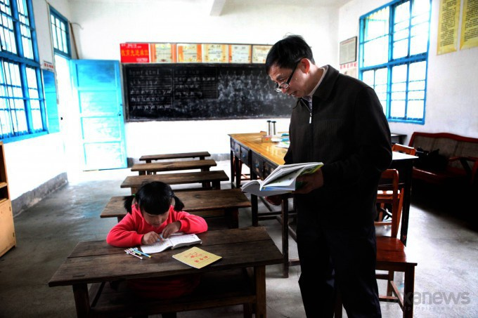 Нэг багш, ганц сурагчтай бага сургууль