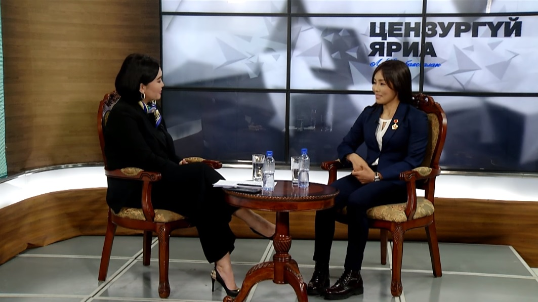 Цензургүй яриа нэвтрүүлэгт МУГТ, Хөдөлмөрийн баатар Доржсүрэнгийн Сумъяа оролцлоо...