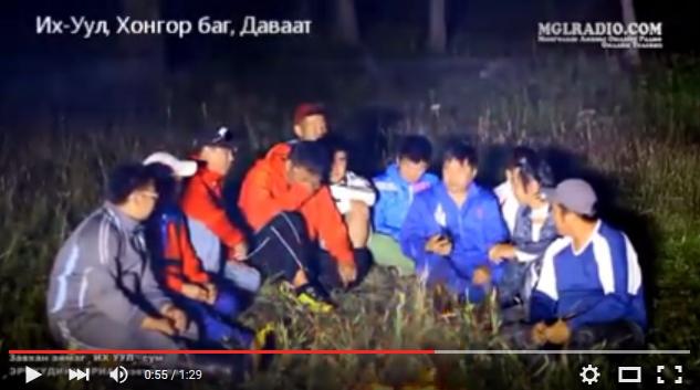 МУ-н гарьд Б.Гончигдамба уйлж буй бичлэг
