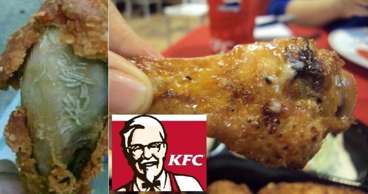 KFC-ийн тахианы шарсан далавчнаас амьд өтнүүд гарчээ /бичлэг/