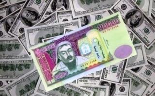 Долларын ханш 1900 төгрөгт хүрлээ
