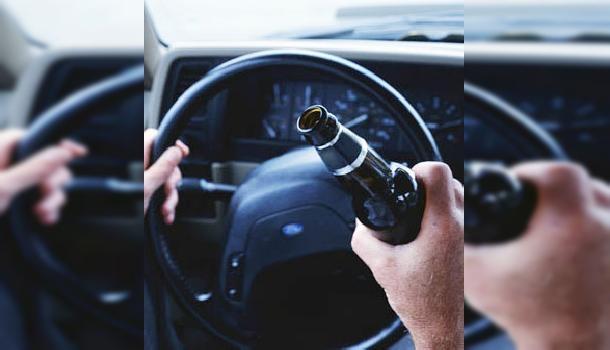 Согтуугаар жолоо барьж яваад хүний аминд хүрчээ