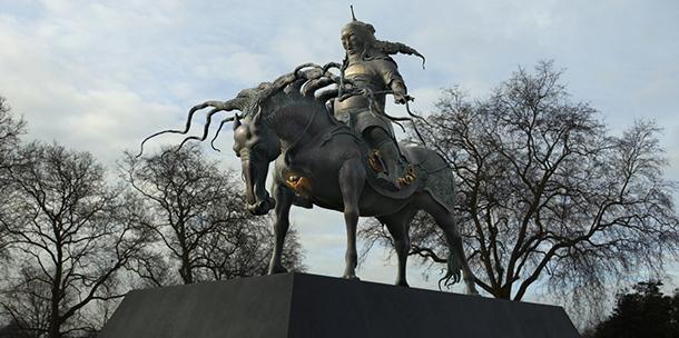 Чингисийн хөшөөг Төв аймгийн Өндөр довд байрлуулна