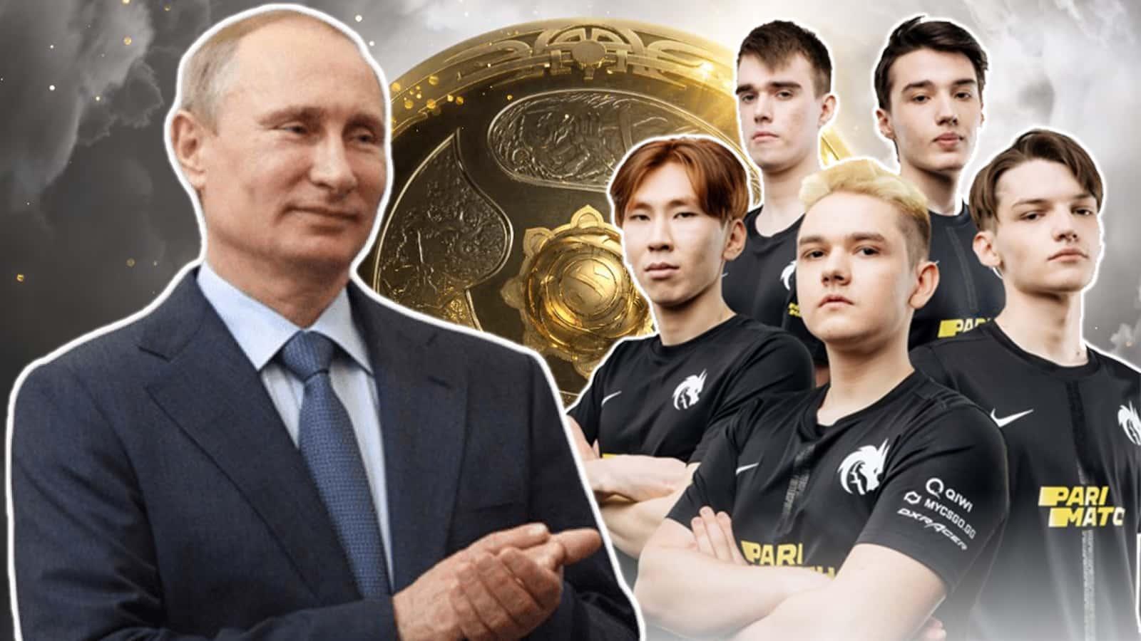 """Путин"""" DOTA-2"""" тэмцээний """"The International 10""""-ын ялагчдад баяр хүргэлээ"""
