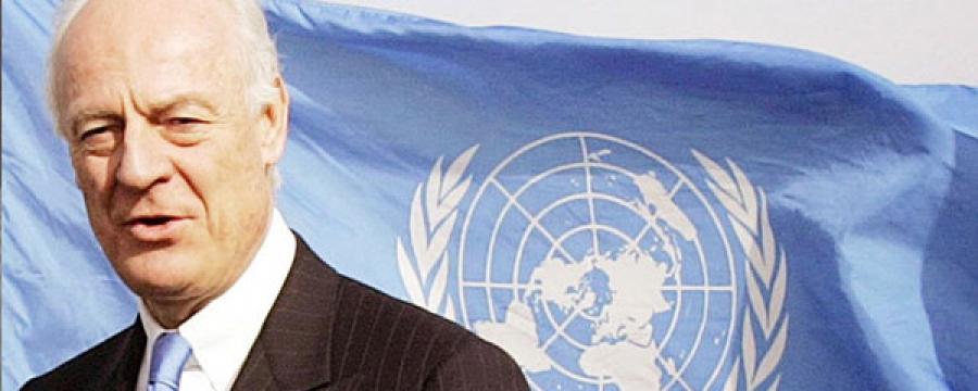 НҮБ-ын тусгай элч Шаффан де Мистура: Сирийн хямралыг зөвхөн улс төрийн аргаар шийднэ