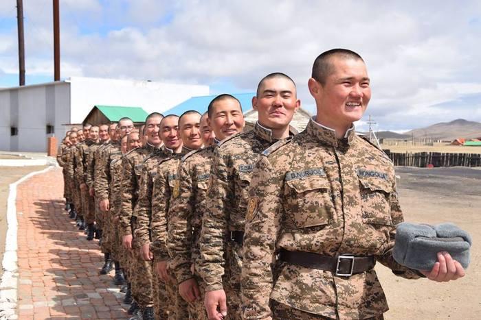 Цэрэг халагдсан өдөр