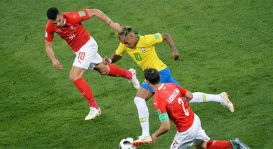 Бразили Швейцарь тэнцээгээр өндөрлөв