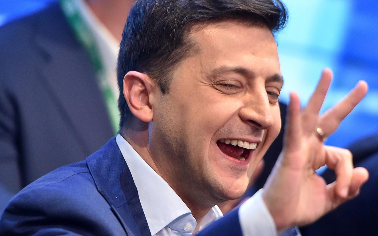 Украины Ерөнхийлөгчөөр жүжигчин Владимир Зелински сонгогдлоо