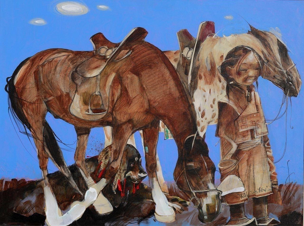Зураач Чой.Ганбаатарын уран бүтээлийн үзэсгэлэн Улаанбаатарт нээгдэнэ